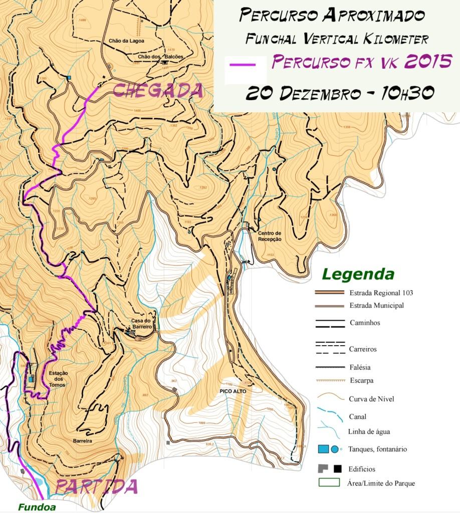 mapa VK FUNCHAL 10 DEZ NET